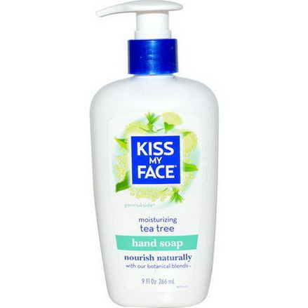 Kiss My Face, Moisturizing Hand Soap, Tea Tree 266ml