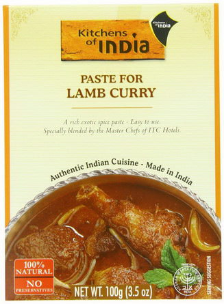 Kitchens of India, Paste For Lamb Curry 100g