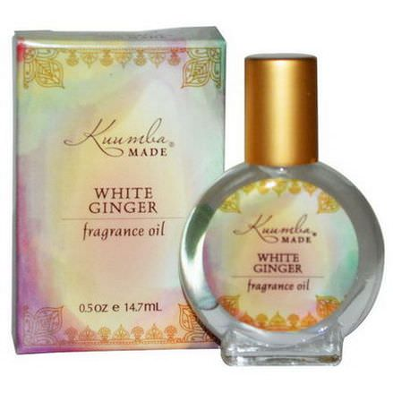 Kuumba Made, Fragrance Oil, White Ginger 14.7ml