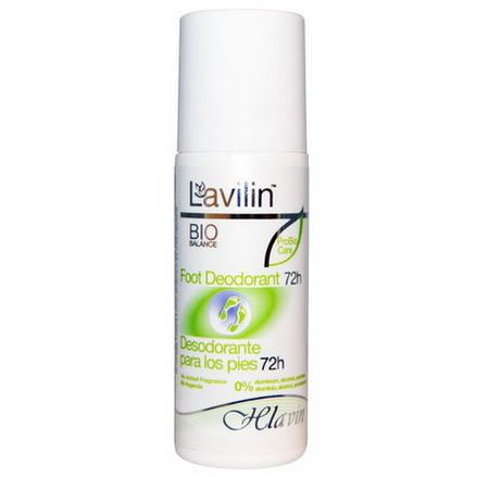 Lavilin, Foot Deodorant 72h 80ml