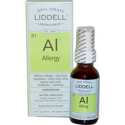 Liddell, Allergy, Oral Spray 30ml