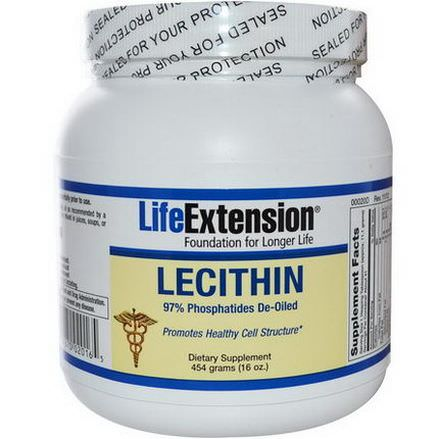 Life Extension, Lecithin 454g