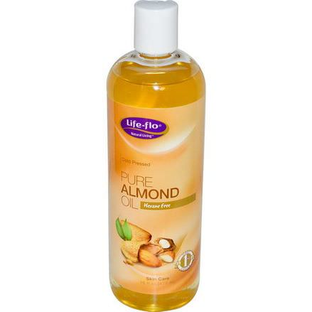 Life Flo Health, Pure Almond Oil, Skin Care 473ml