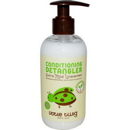Little Twig, Conditioning Detangler, Extra Mild Unscented 251ml