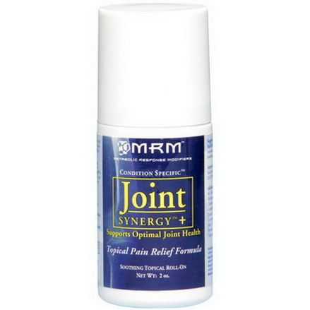 MRM, Joint Synergy+, Soothing Topical Roll-On, 2 oz