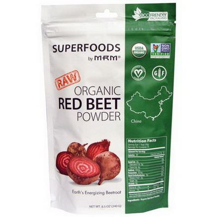 MRM, Organic Red Beet Powder 240g