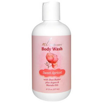 Madre Labs, Body Wash, Sweet Apricot 257ml