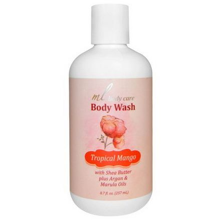 Madre Labs, Body Wash, Tropical Mango 257ml