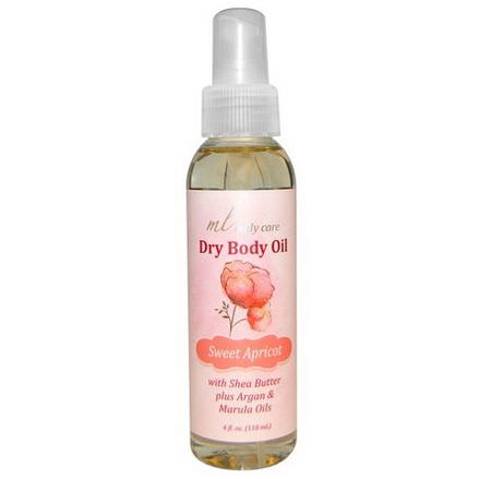 Madre Labs, Dry Body Oil, Sweet Apricot 118ml