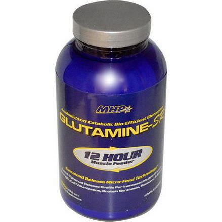 Maximum Human Performance, LLC, Glutamine-SR, Unflavored 300g
