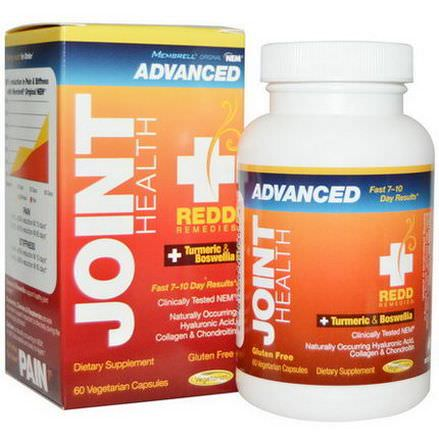 Membrell, Redd Remedies, Joint Health Advanced Turmeric&Boswellia, 60 Veggie Caps