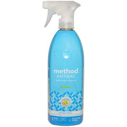 Method, Antibac, Bathroom Cleaner, Spearmint 828ml