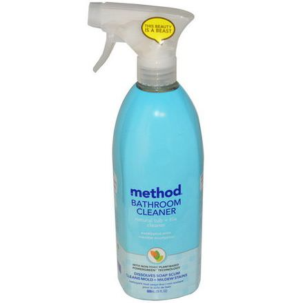 Method, Bathroom Cleaner, Eucalyptus Mint 828ml