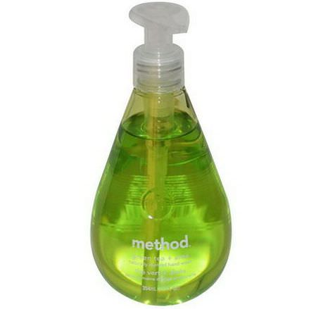 Method, Hand Wash, Green Tea Aloe Vera 354ml