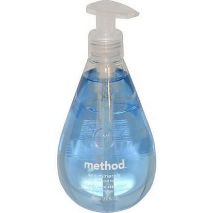 Method, Hand Wash, Sea Minerals 354ml