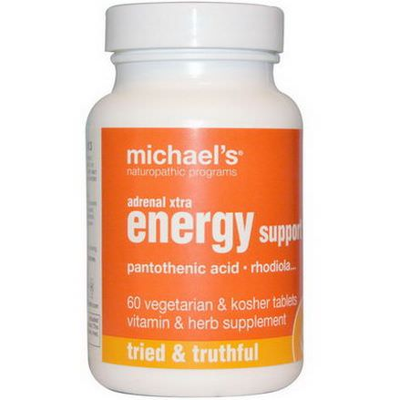 Michael's Naturopathic, Adrenal Xtra Energy Support, 60 Veggie Tabs