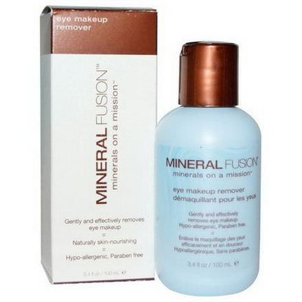 Mineral Fusion, Eye Makeup Remover 100ml