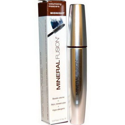 Mineral Fusion, Volumizing Mascara, Midnight 17ml