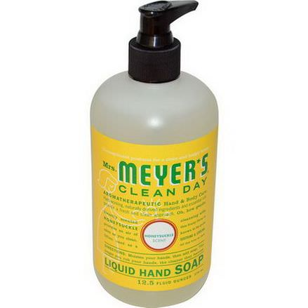 Mrs. Meyers Clean Day, Liquid Hand Soap, Honeysuckle Scent 370ml