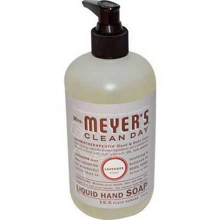 Mrs. Meyers Clean Day, Liquid Hand Soap, Lavender Scent 370ml