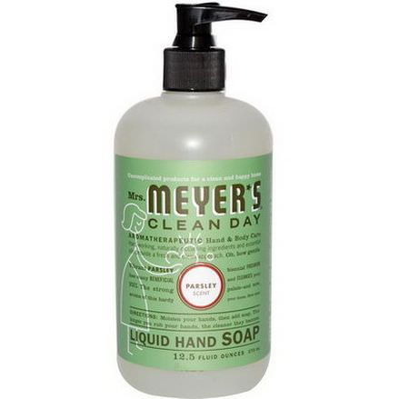 Mrs. Meyers Clean Day, Liquid Hand Soap, Parsley Scent 370ml