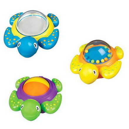 Munchkin, Bath Time Turtles, 12+ Months, 3 Pack