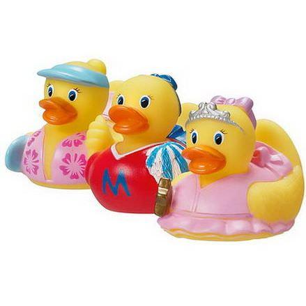 Munchkin, Mini Ducks for Girls, 9+ Months, 3 Pack