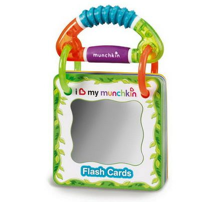Munchkin, Traveling Flash Cards, 3 Years