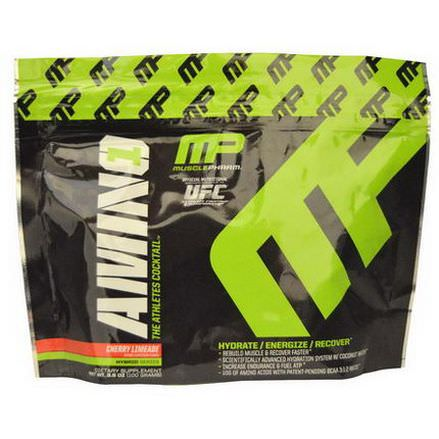 Muscle Pharm, Amino 1, The Athletes Cocktail, Cherry Limeade 100g