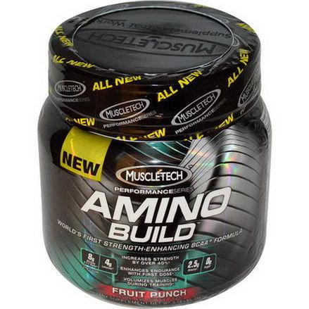 Muscletech, Performance Series, Amino Build, Fruit Punch 261g
