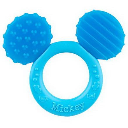 NUK, Disney Baby, Mickey Mouse Teether, 3+ Months, 1 Teether