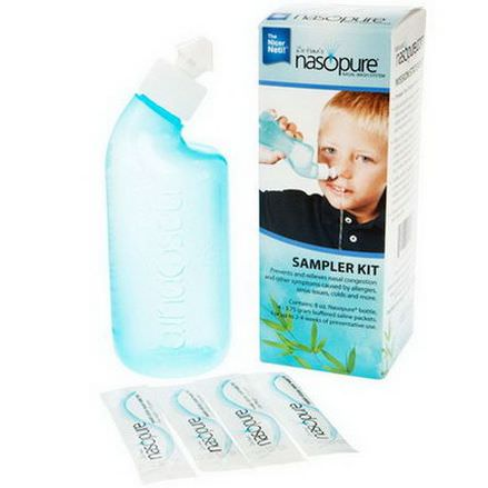 Nasopure, Nasal Wash System, 1 Sampler Kit