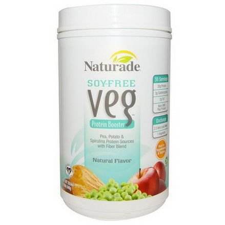 Naturade, Soy-Free Veg, Protein Booster, Natural Flavor 840g