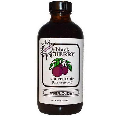 Natural Sources, Black Cherry Concentrate Unsweetened 240ml