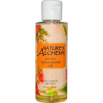 Nature's Alchemy, Apricot Kernel Oil 118ml