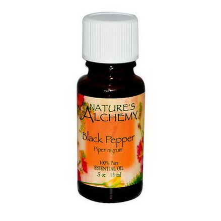 Nature's Alchemy, Black Pepper, Essential Oil 15ml