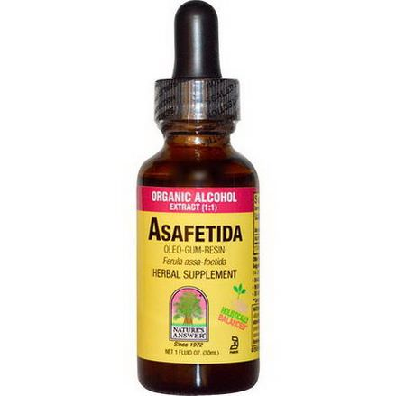 Nature's Answer, Asafetida, Organic Alcohol Extract 30ml