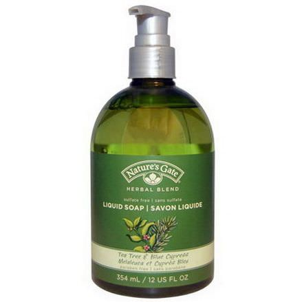 Nature's Gate, Herbal Blend, Liquid Soap, Tea Tree&Blue Cypress 354ml