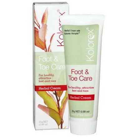 Nature's Sources, Kolorex, Foot&Toe Care, Herbal Cream 25g