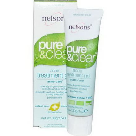 Nelson Bach USA, Pure&Clear, Acne Treatment Gel, Step 4 30g