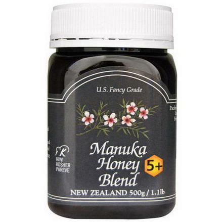 New Zealand Honey, Manuka Honey Blend 5+ 500g