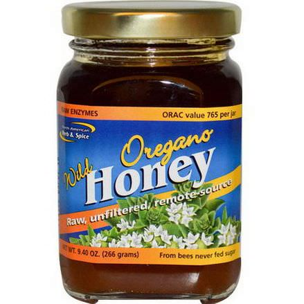 North American Herb&Spice Co. Wild Oregano Honey 266g