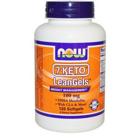 Now Foods, 7-Keto LeanGels, 100mg, 120 Softgels