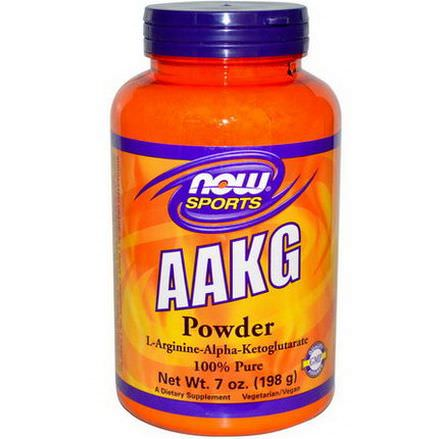Now Foods, AAKG Powder 198g