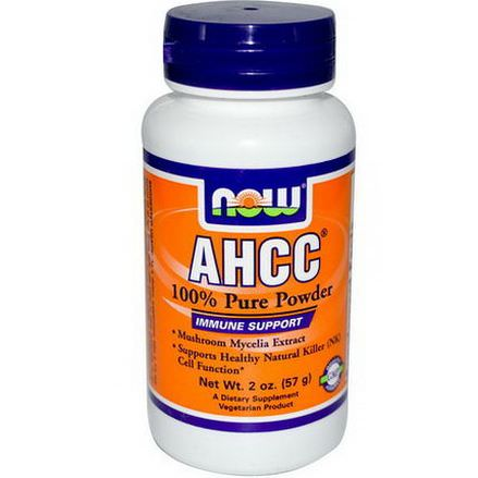 Now Foods, AHCC, 100% Pure Powder 57g