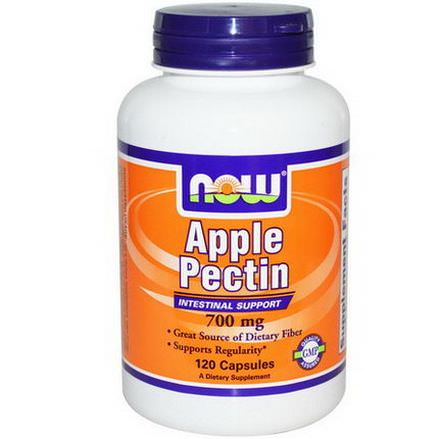 Now Foods, Apple Pectin, 700mg, 120 Capsules