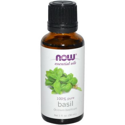 Now Foods, Essential Oils, Basil 30ml
