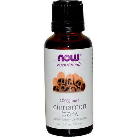 Now Foods, Essential Oils, Cinnamon Bark 30ml