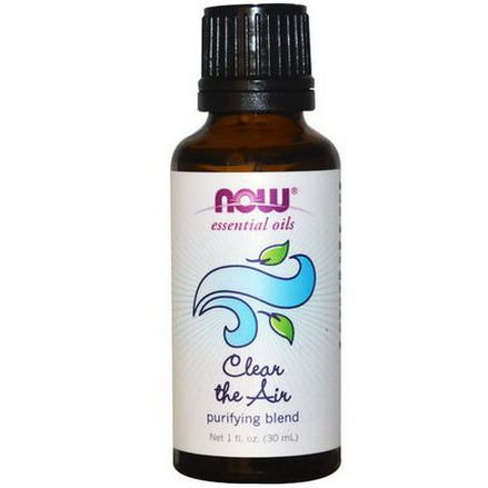 Now Foods, Essential Oils, Clear the Air, Purifying Blend 30ml