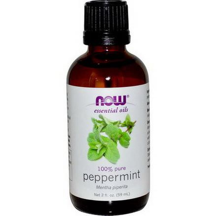 Now Foods, Essential Oils, Peppermint 59ml